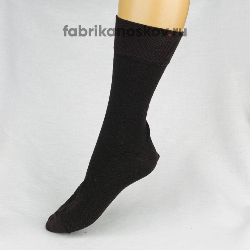 Мужские носки с ромбиками