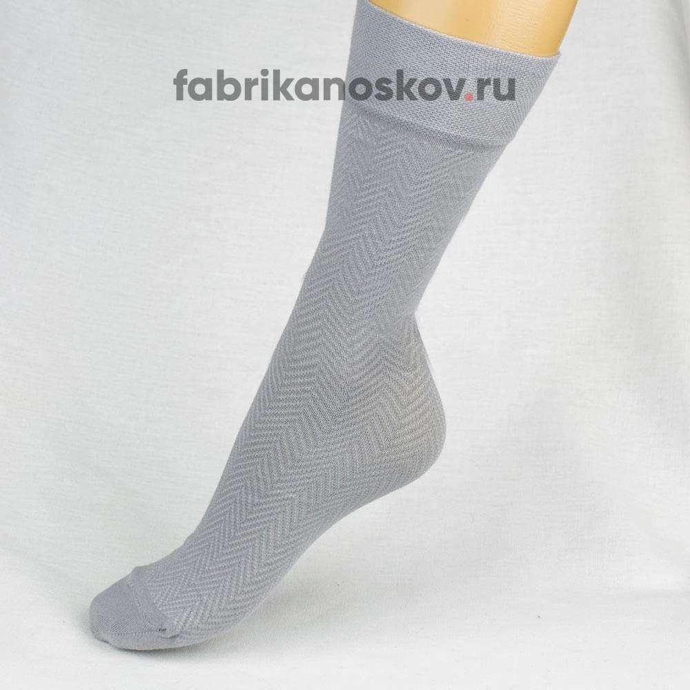 Мужские носки с зигзагами