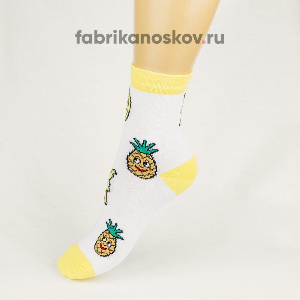Детские носки с фруктами