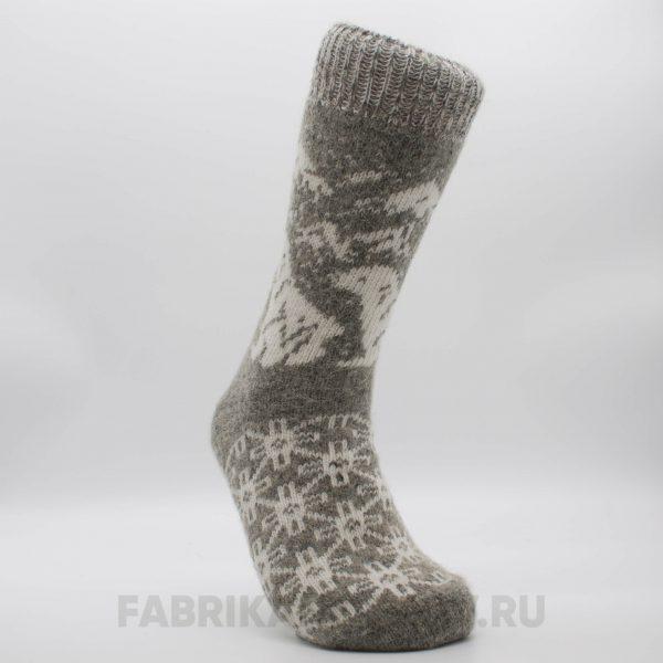 Мужские шерстяные носки с морским львом