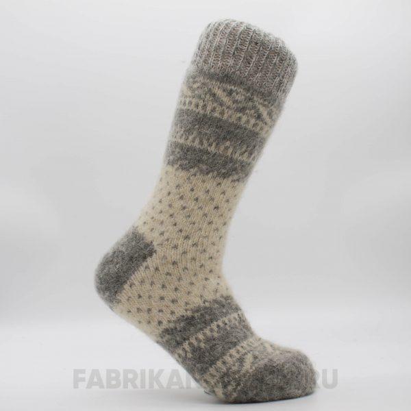 Мужские шерстяные носки с точками