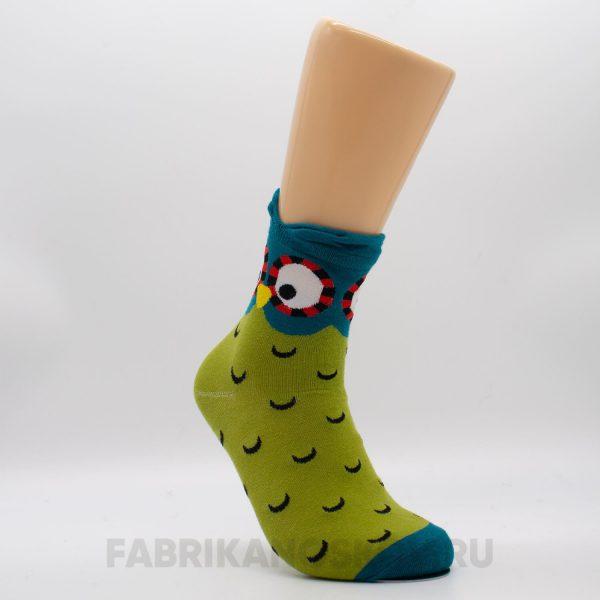 Детские носки с изображением совы