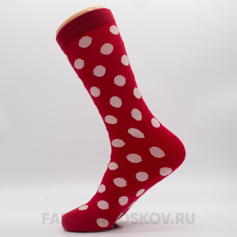 Мужские носки с большими кругами