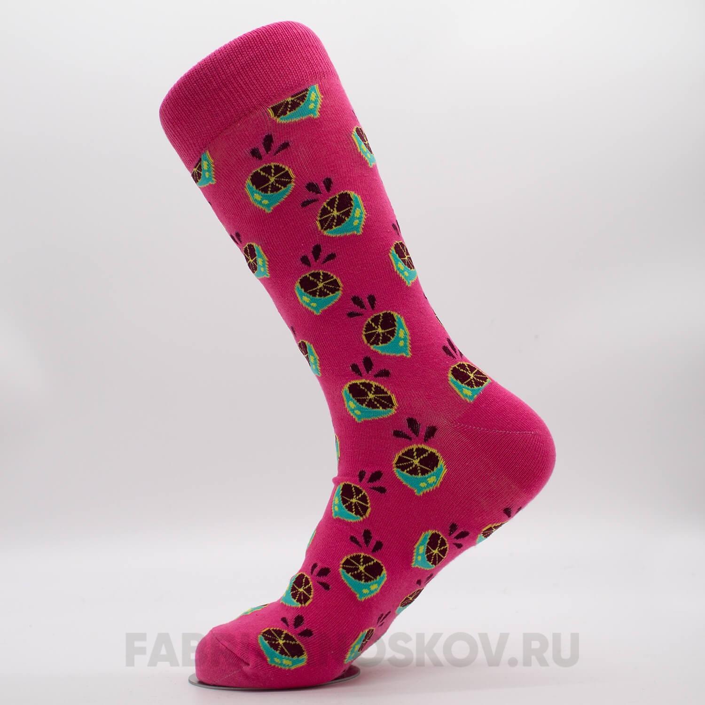 Женские носки с изображением лайма