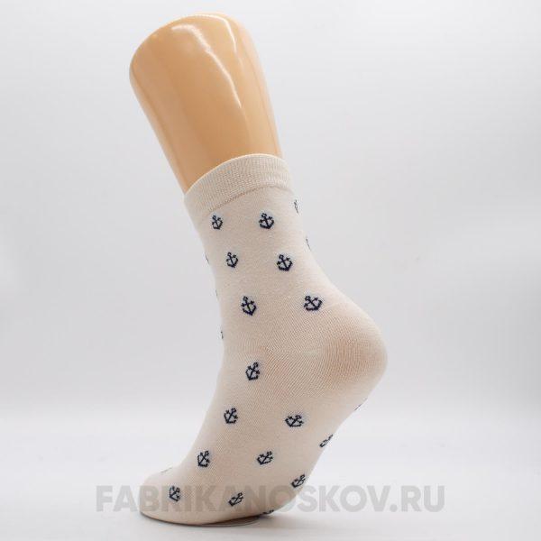 Мужские носки с малыми якорями