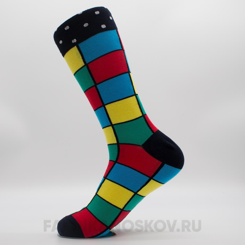 Длинные мужские носки «Диско»