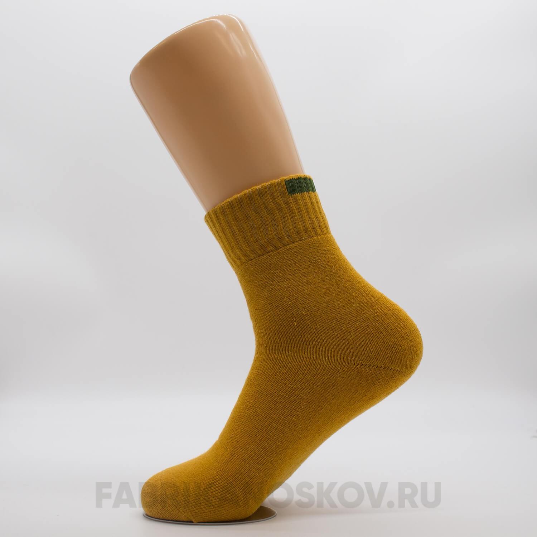 Мужские короткие носки со спортивной резинкой