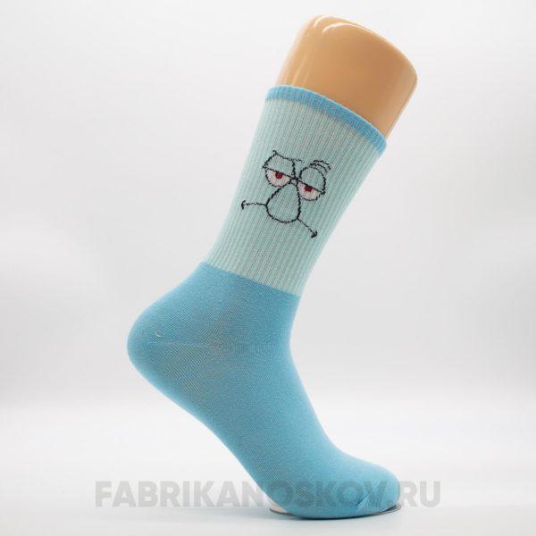 """Мужские носки """"Сквидвард"""""""
