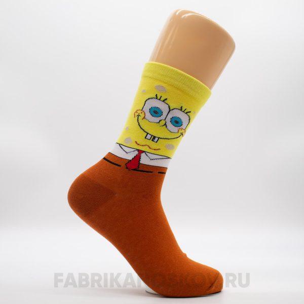 """Мужские носки """"Спанч Боб"""""""