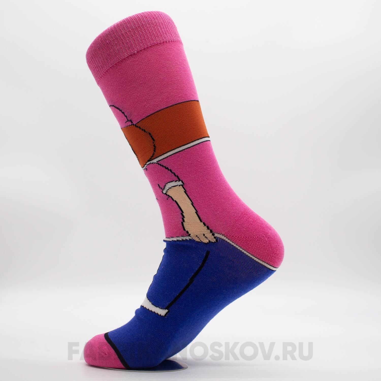 Женские носки с изображением «Мег»