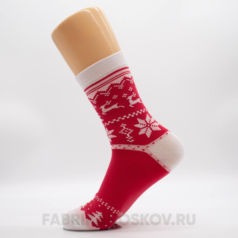 Мужские носки с оленями