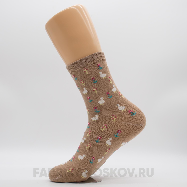 Женские носки с утками