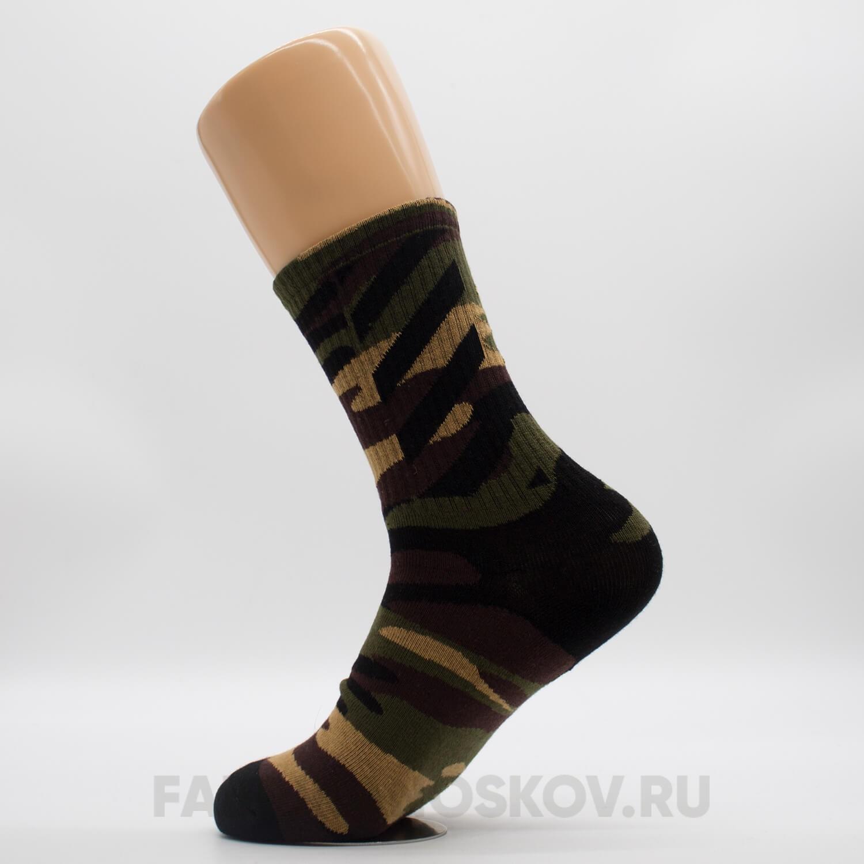 Мужские спортивные носки «Хаки»