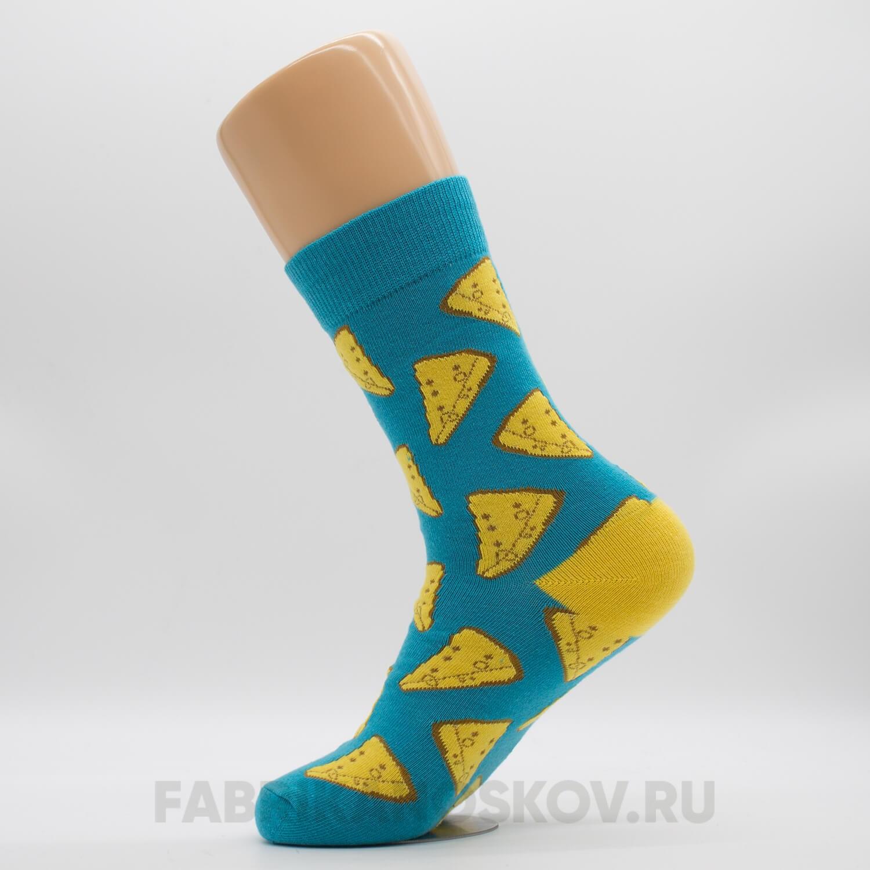 Мужские носки с сыром