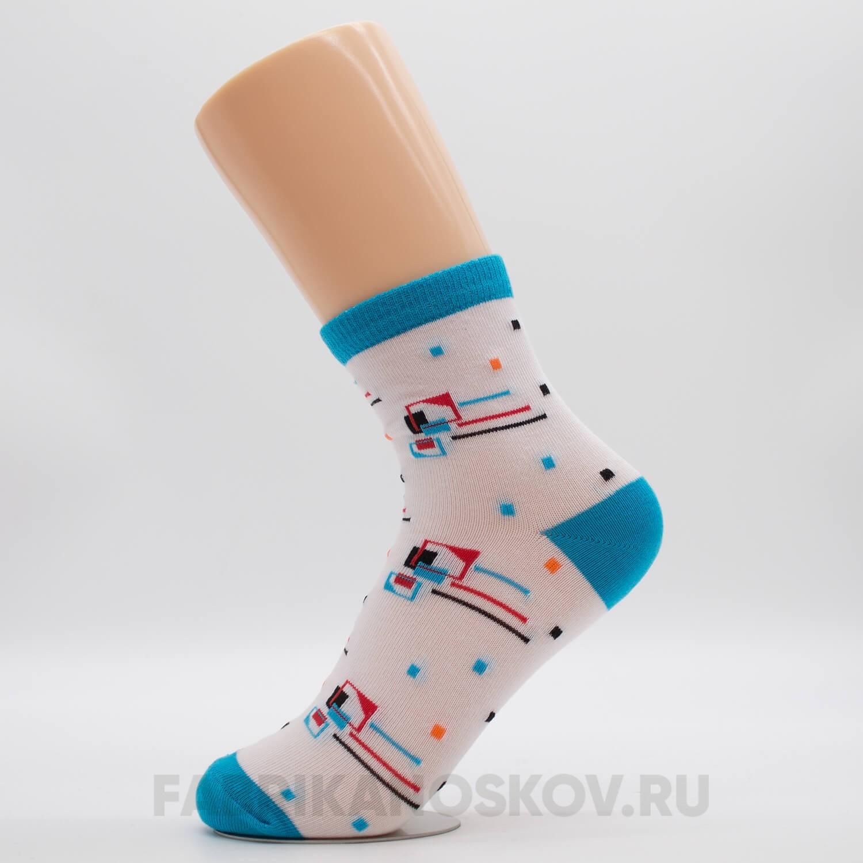 Детские носки Квадри