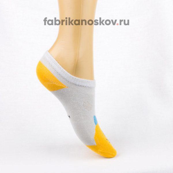 Короткие детские носки с изображением кота
