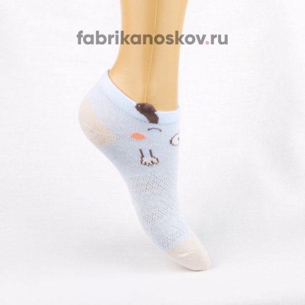 Детские носки с изображением собачки