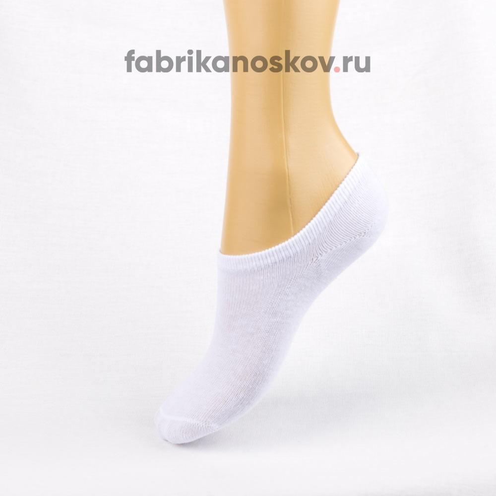 Короткие детские носки белого цвета