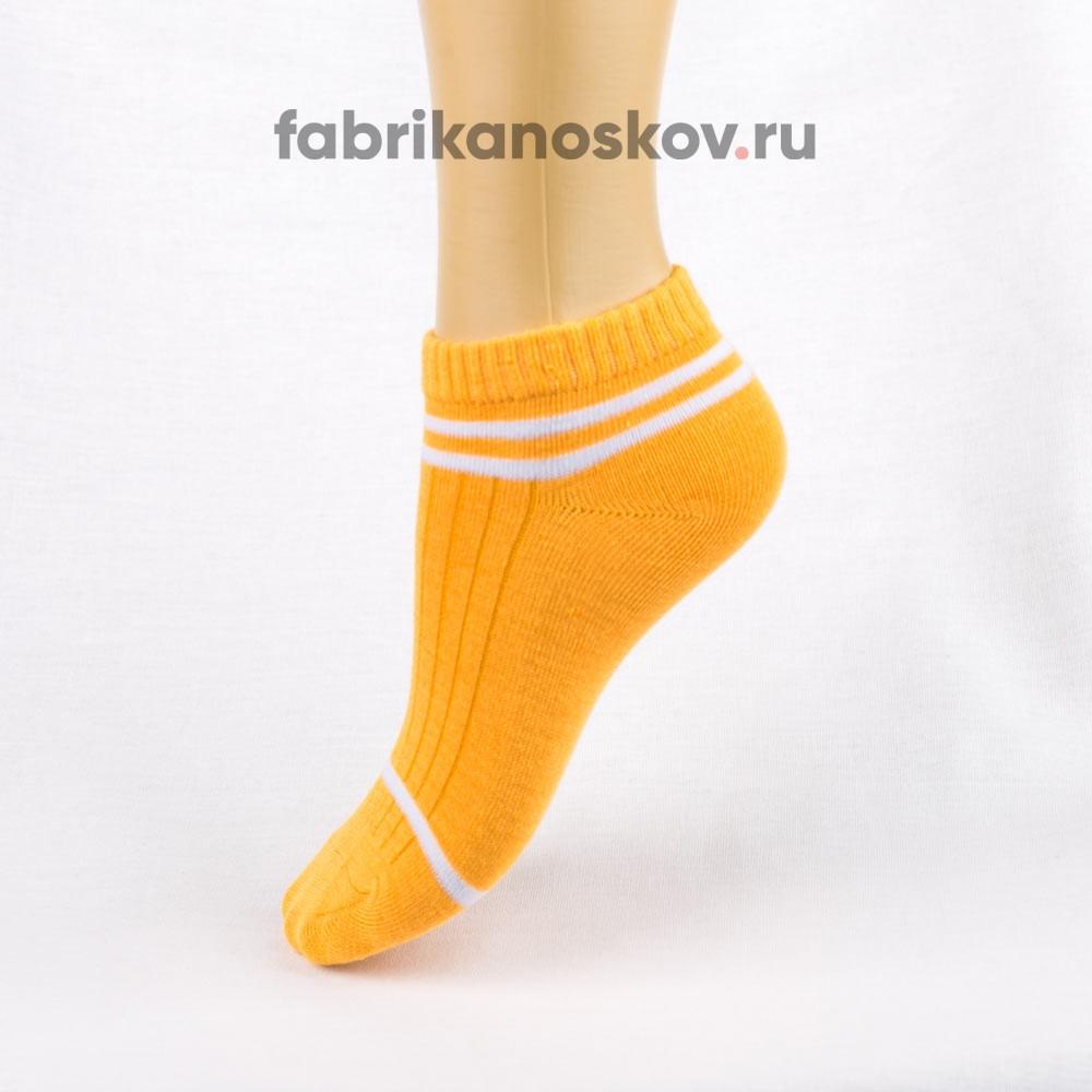 Короткие носки с полосками для детей