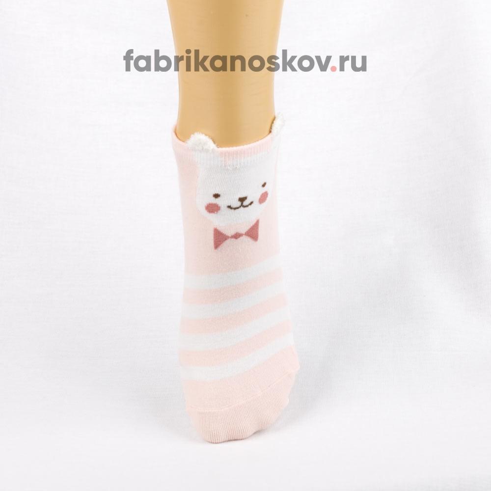 Носки для малышей с изображением медвежонка