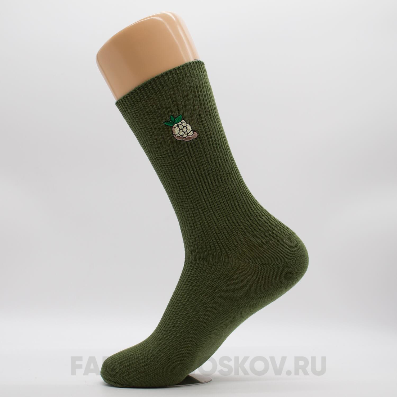 Женские носки с ежевикой