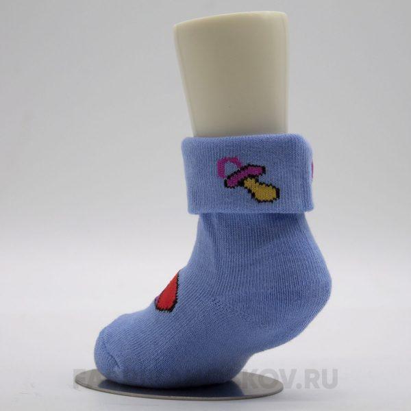 Носки для новорожденных c изображением игрушек