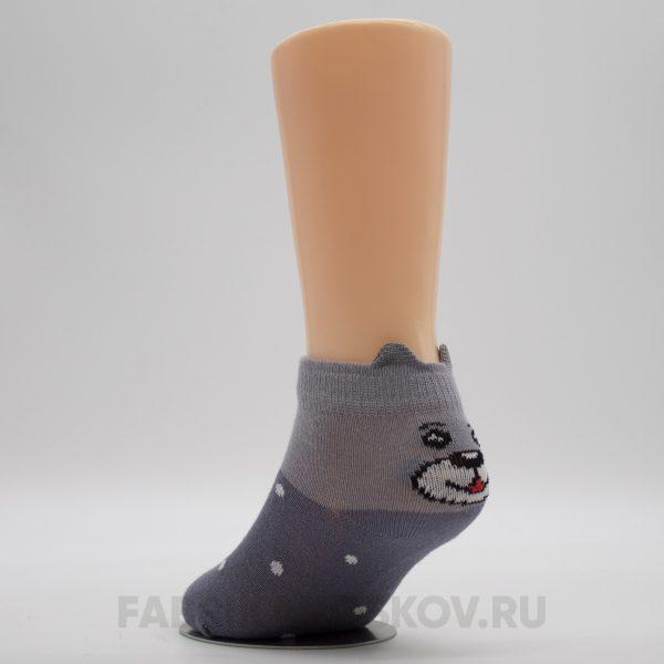 Детские носки с изображением мишки