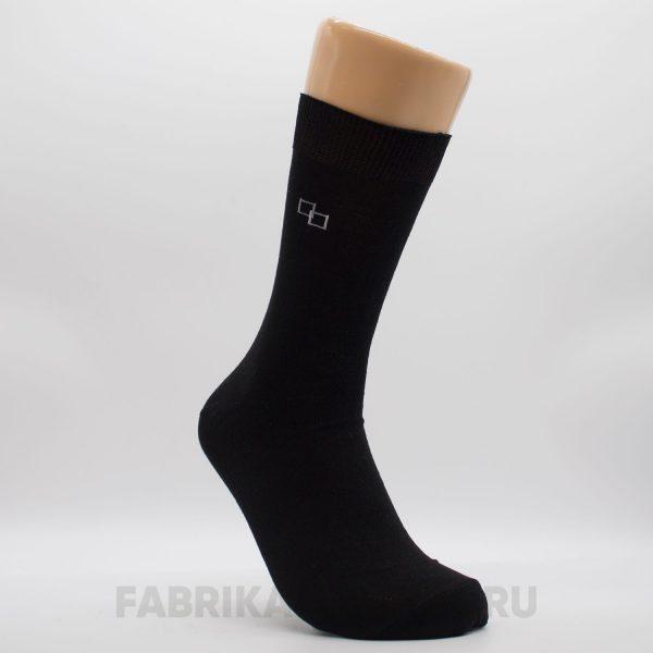 Мужские носки с квадратами