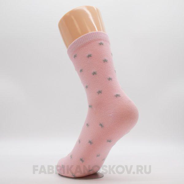 Детские носки со звездочками