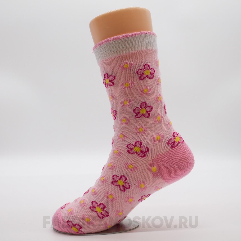 Детские носки с цветочками