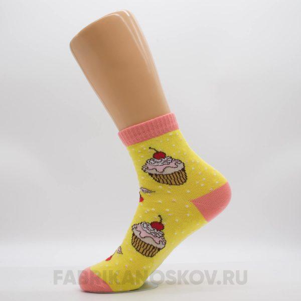 """Женские носки """"Пирожное"""""""