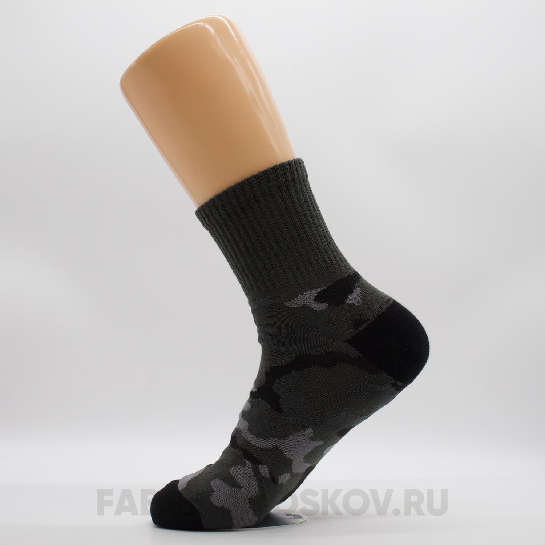 Носки мужские камуфляжные со спортивной резинкой