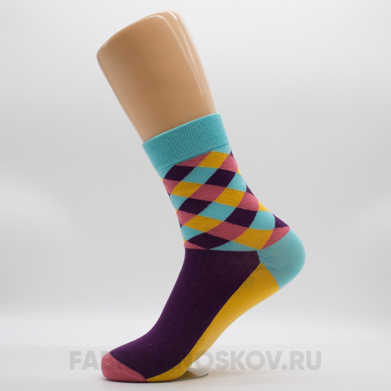 Женские носки с орнаментом