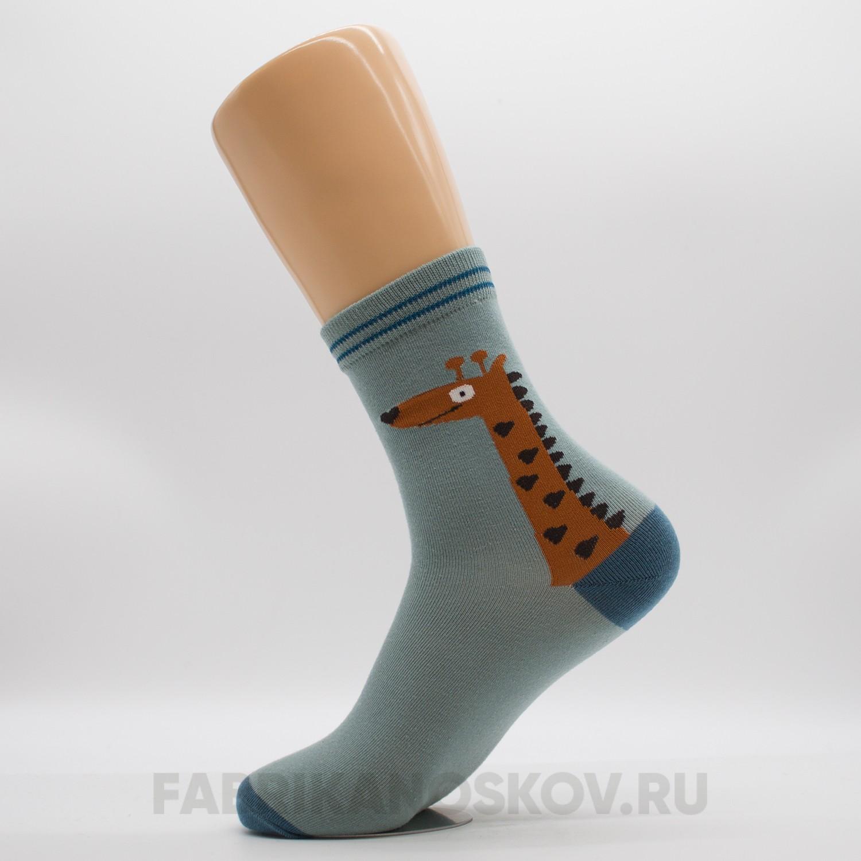 Мужские носки с изображением жирафа