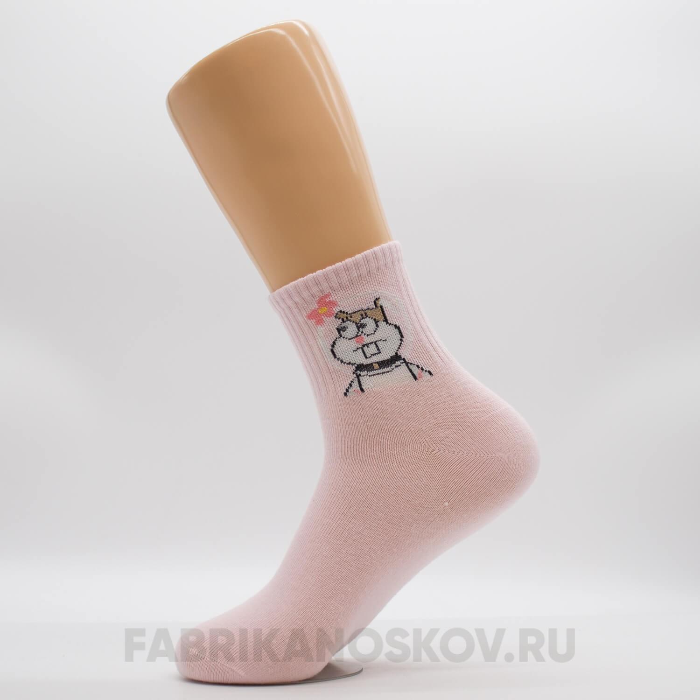 Женские носки с изображением белки Сэнди