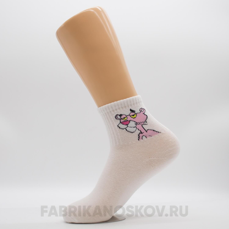 Женские носки с изображением пантеры