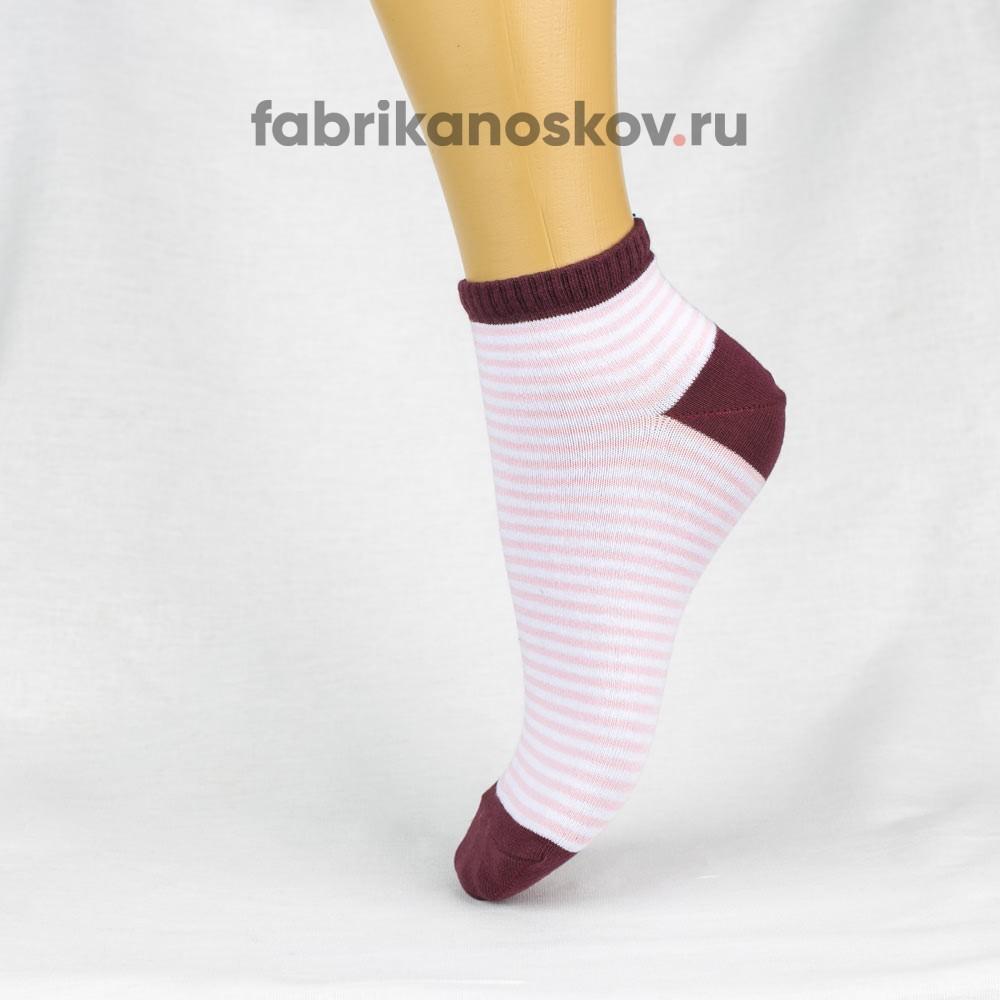 Женские носки с узкой полоской