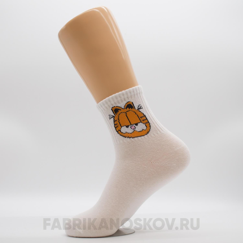 Мужские носки с изображением Гарфилда