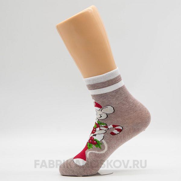 Носки женские новогодние