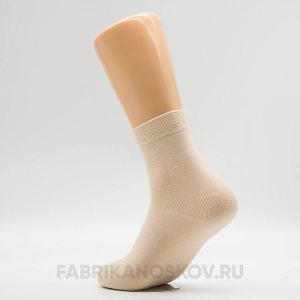 Женские кремовые носки