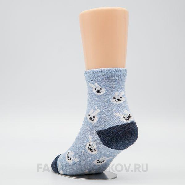 Детские носки зайки